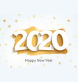 2020 new year happy eve party background 2020 vector image vector image
