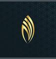 arabic calligraphy word allah vector image vector image