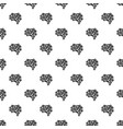 artificial brain pattern seamless vector image