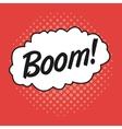 Boom design Pop art icon Retro and Colorfull vector image