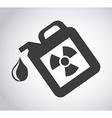 gallon fuel vector image vector image