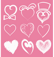 heart suite vector image vector image