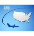 Rhode Island vector image vector image