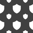 Shield Protection icon sign Seamless pattern on a vector image