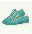 sneaker shoes run sport vector image