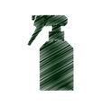 sprinkler bottle isolated icon vector image