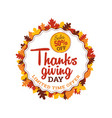 thanksgiving day super sale 50 off badge with vector image vector image