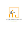 construction logo vector image