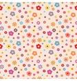 flower pattern summer pattern vector image vector image