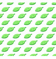 green leaves seamless color pattern vector image vector image