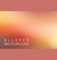 horizontal wide red blurred background vector image vector image