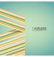 Multicolor grunge background vintage poster vector image