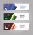ramadan kareem concept banner islamic theme vector image vector image