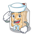 sailor pork rinds isolated in cartoon vector image vector image