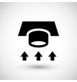 Ventilation duct icon vector image vector image