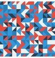Set of a blue and red triangles as background vector image