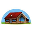 3d house vector image vector image