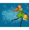 Christmas discounts vector image vector image