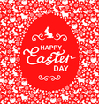 easter card egg red vector image vector image