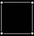 frame white 1 1612 vector image vector image