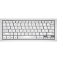 Laptop keyboard vector image vector image