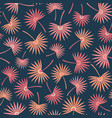 seamless repeat pattern tossed tropical vector image vector image