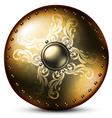 shield celtic vector image