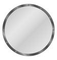 circle shield vector image