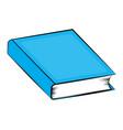 closed book cartoon symbol icon design beautiful vector image vector image
