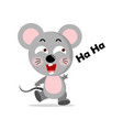 concept cute mouse concept vector image