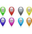 icon location vector image vector image