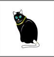 image big cat vector image