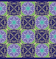 pattern with geometric shapes vector image