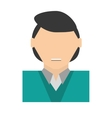 people commoner man icon image vector image vector image