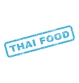 Thai Food Rubber Stamp vector image vector image