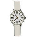 the white ladies wrist watches vector image vector image