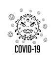 wuhan corona virus epidemic occurs at wuhan china vector image