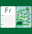 cartoon frog game pages for children vector image