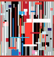 abstract geometric pattern stripes vector image