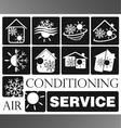 Air condicioning set