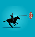 business determination and target vector image vector image