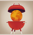 major environmental issue global warming concern vector image