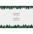 merry christmas and happy new year xmas vector image vector image