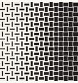 seamless geometric pattern halftone vector image vector image