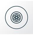 tie icon line symbol premium quality isolated vector image vector image