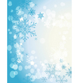 winter soft background4 vector image vector image