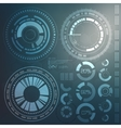 Technology element Technological background with vector image