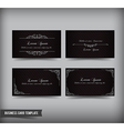 Business Card template set 60 vector image vector image