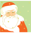 Father Christmas vector image vector image