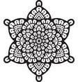 mandala layered vector image